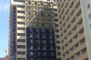 Вентфасад в многоэтажном строительстве