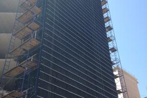 Вентилируемый фасад в складском строительстве