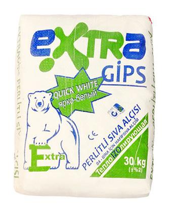 Штукатурка «EXTRA GIPS» (Сива)