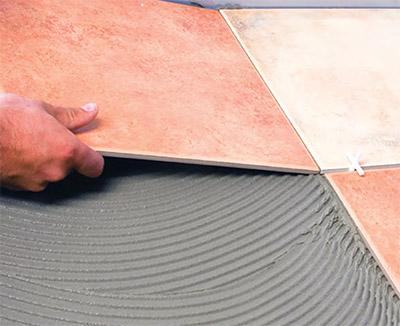БИРСmix ГРАНИТ клей с армирующими волокнами для керамогранита применение
