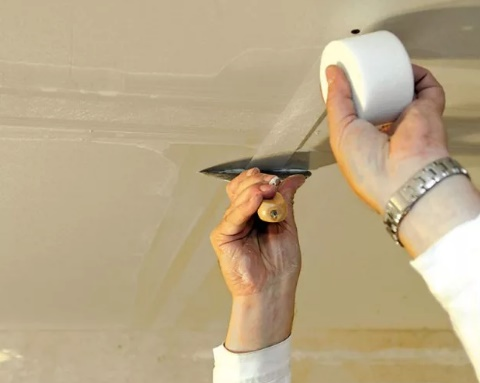 шпаклевка гипсокартонных стен под покраску