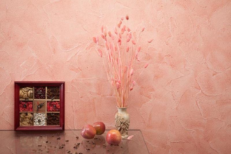 отделка стен декоративной штукатуркой