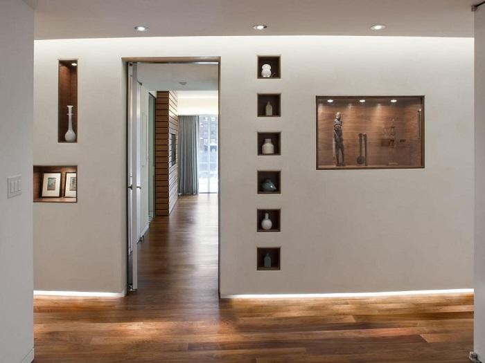 инструмент фото декор из гипсокартона стены прихожая военно-исторического клуба